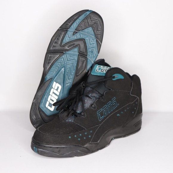 815e4d494f7ac Vintage New Converse Speedpull Mid Shoes Black 10